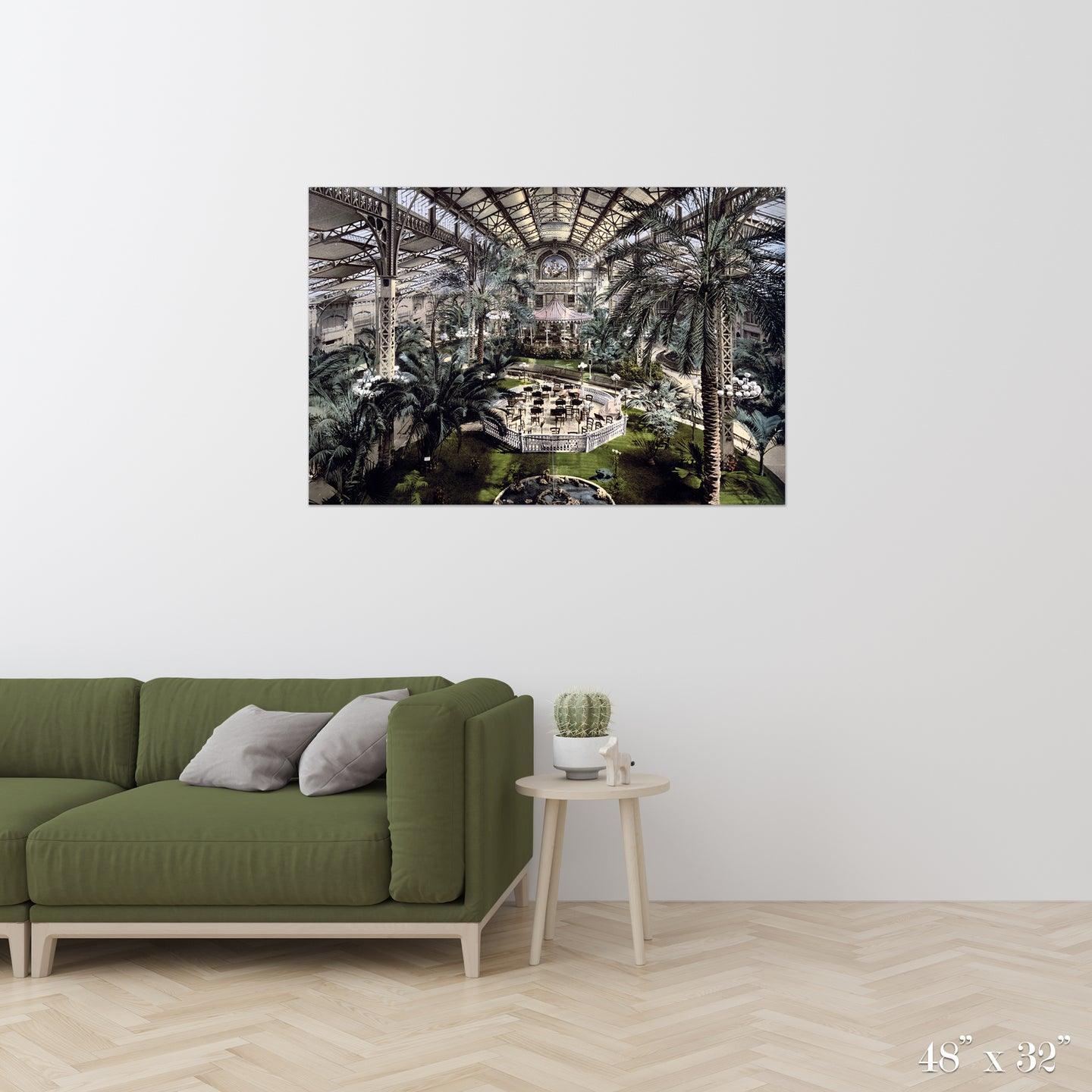Conservatory Colossal Art Print