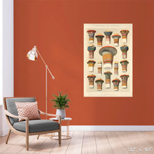 Load image into Gallery viewer, Egyptian Columns Colossal Art Print