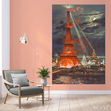 Load image into Gallery viewer, Eiffel Tower Illuminated Colossal Art Print