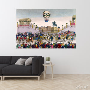 Entrance Colossal Art Print