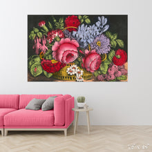 Load image into Gallery viewer, Flower Basket Colossal Art Print