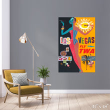 Load image into Gallery viewer, Fly Las Vegas Colossal Art Print