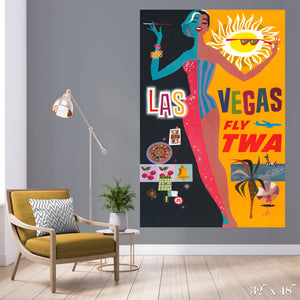 Fly Las Vegas Colossal Art Print