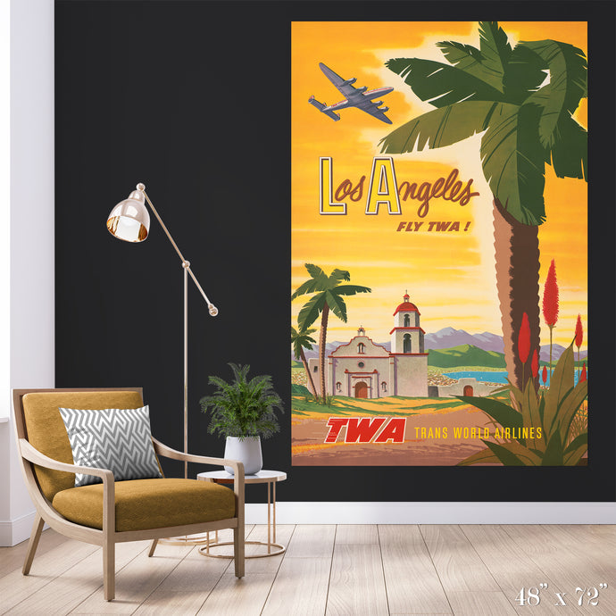 Fly Los Angeles Colossal Art Print