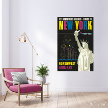 Load image into Gallery viewer, Fly New York - Statue of Liberty Colossal Art Print