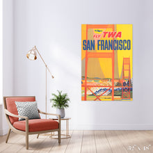 Load image into Gallery viewer, Fly San Francisco Colossal Art Print