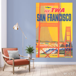 Fly San Francisco Colossal Art Print