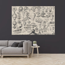 Load image into Gallery viewer, Flying Contraptions Colossal Art Print