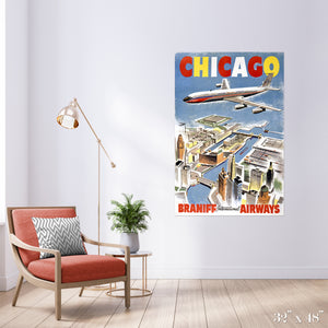 Fly Chicago Colossal Art Print