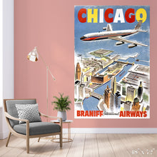 Load image into Gallery viewer, Fly Chicago Colossal Art Print