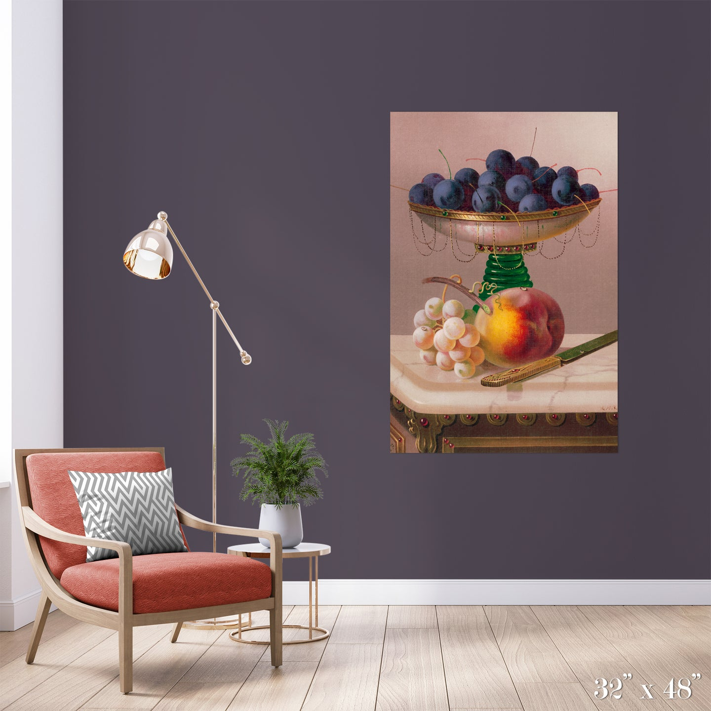 Fruit Bowl Colossal Art Print