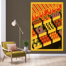 Load image into Gallery viewer, Fruit Store Colossal Art Print