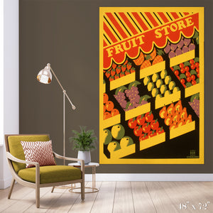 Fruit Store Colossal Art Print