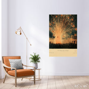 Gare les Bombes Colossal Art Print