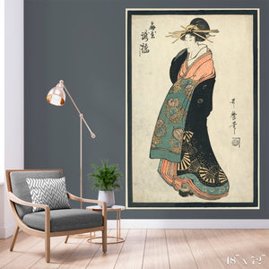 Geisha Colossal Art Print