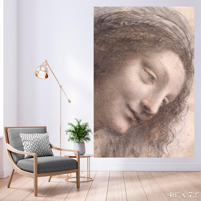 Head of the Virgin Colossal Art Print