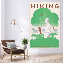 Load image into Gallery viewer, Hiking V2 Colossal Art Print