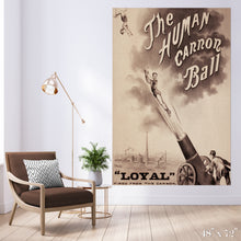 Load image into Gallery viewer, Human Cannonball Colossal Art Print
