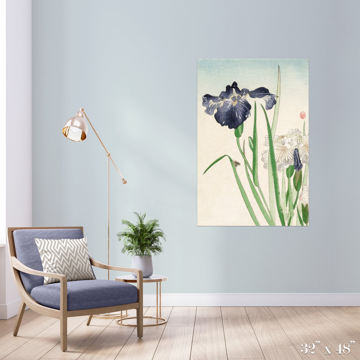 Iris Colossal Art Print
