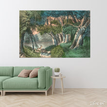 Load image into Gallery viewer, Lake in the Woods Colossal Art Print