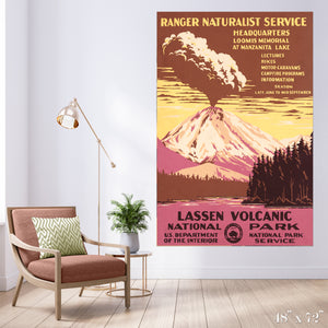 Lassen Volcanic National Park Colossal Art Print