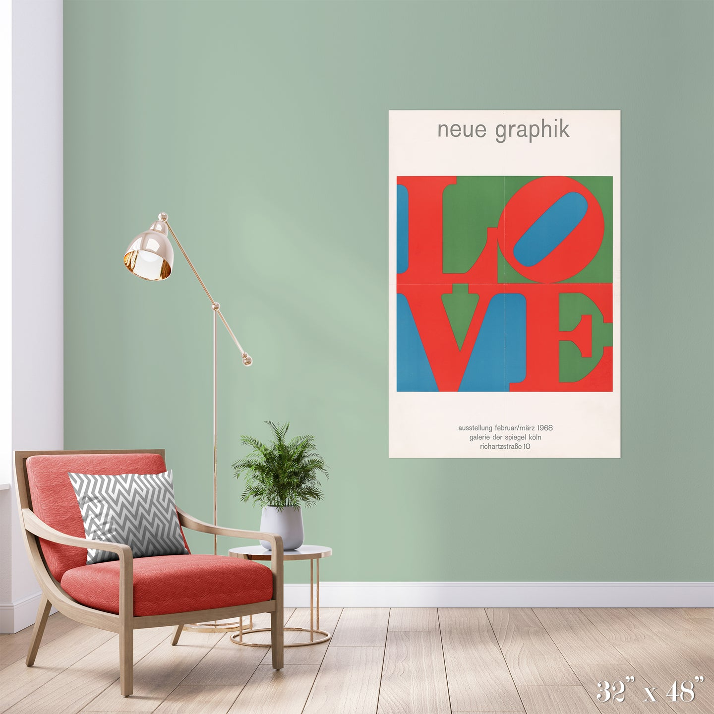 Love Colossal Art Print