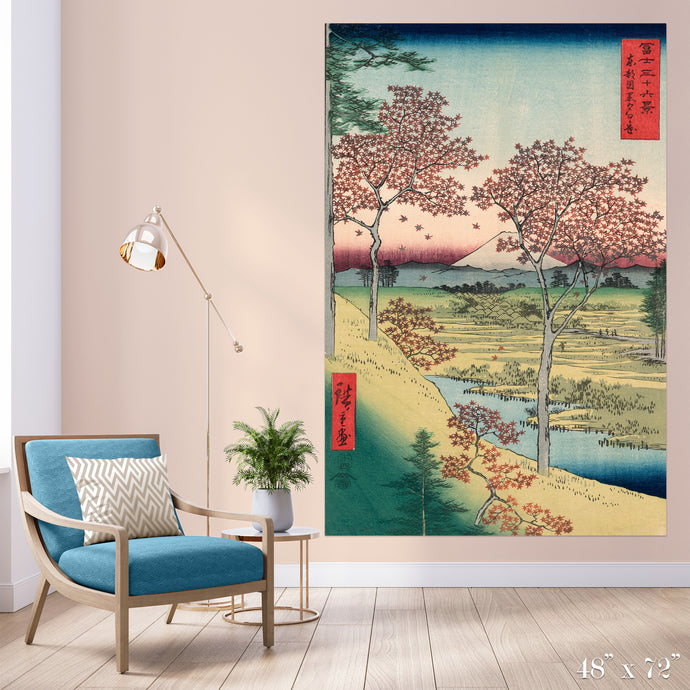 Maple Trees Colossal Art Print