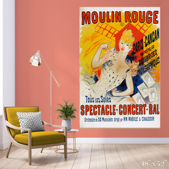 Moulin Rouge Colossal Art Print