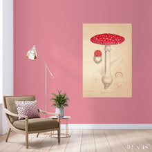 Load image into Gallery viewer, Mushroom Colossal Art Print