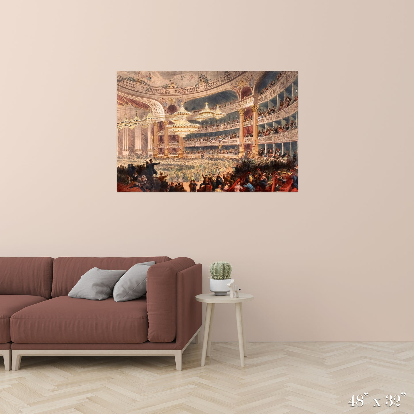 Opera Ball Colossal Art Print