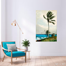 Load image into Gallery viewer, Palm Tree, Nassau Colossal Art Print