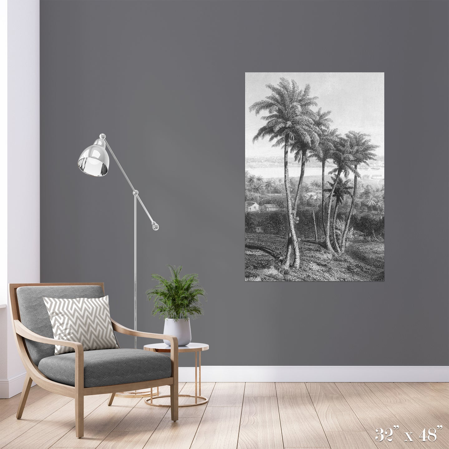 Palms Colossal Art Print