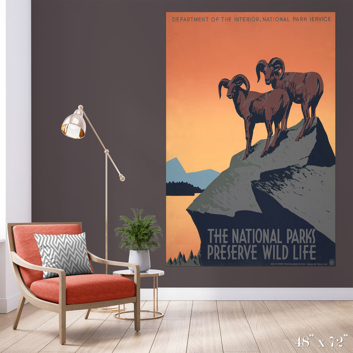Preserve Wildlife Colossal Art Print