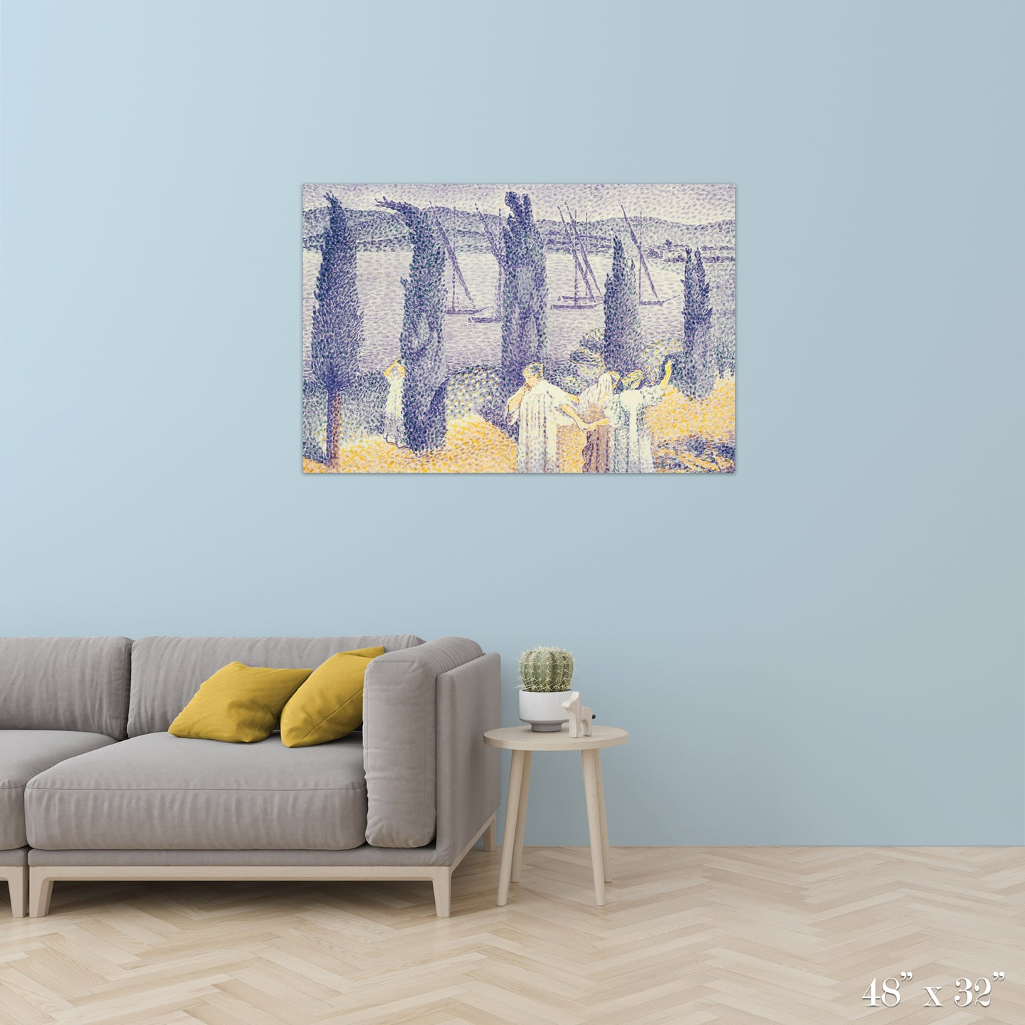 The Promenade Colossal Art Print