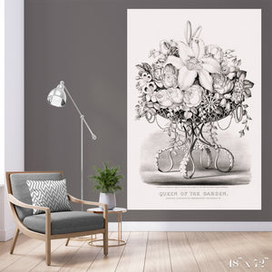 Queen of the Garden Colossal Art Print