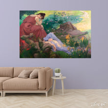 Load image into Gallery viewer, Joyful and Peaceful Rest: Meditation Colossal Art Print