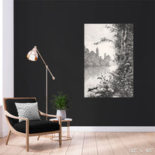 Load image into Gallery viewer, River Bank View Colossal Art Print