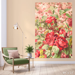 Roses and Lilacs Colossal Art Print
