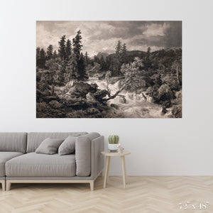 Rushing River Colossal Art Print