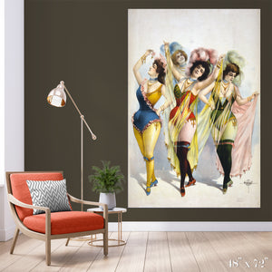 Showgirls Colossal Art Print