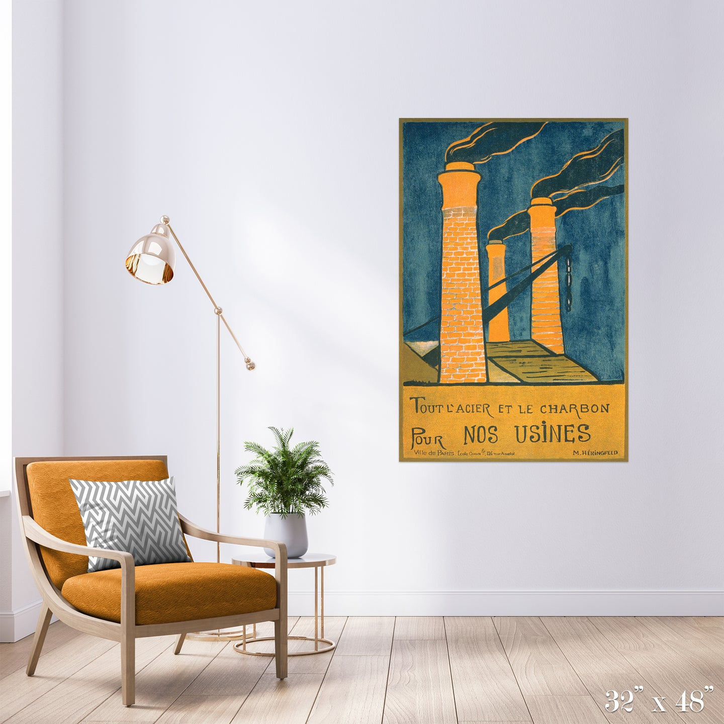 Smokestacks Colossal Art Print