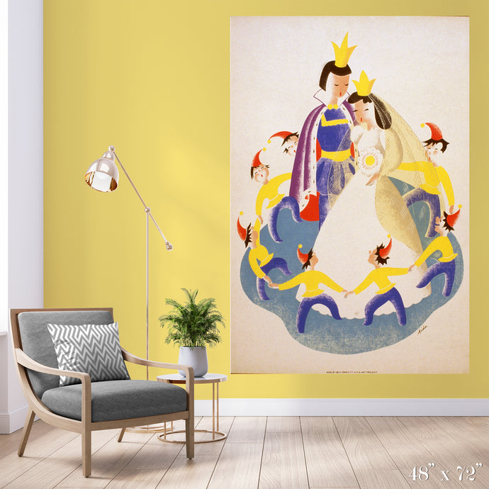Snow White Colossal Art Print
