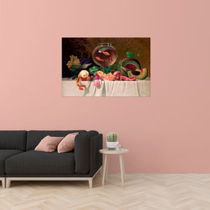 Still Life with Fish Colossal Art Print