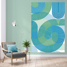 Load image into Gallery viewer, Stripe Vortex Colossal Art Print