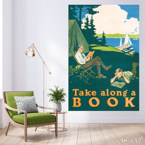 Take Along a Book Colossal Art Print