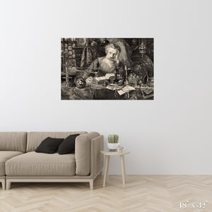 The Antiquary Colossal Art Print