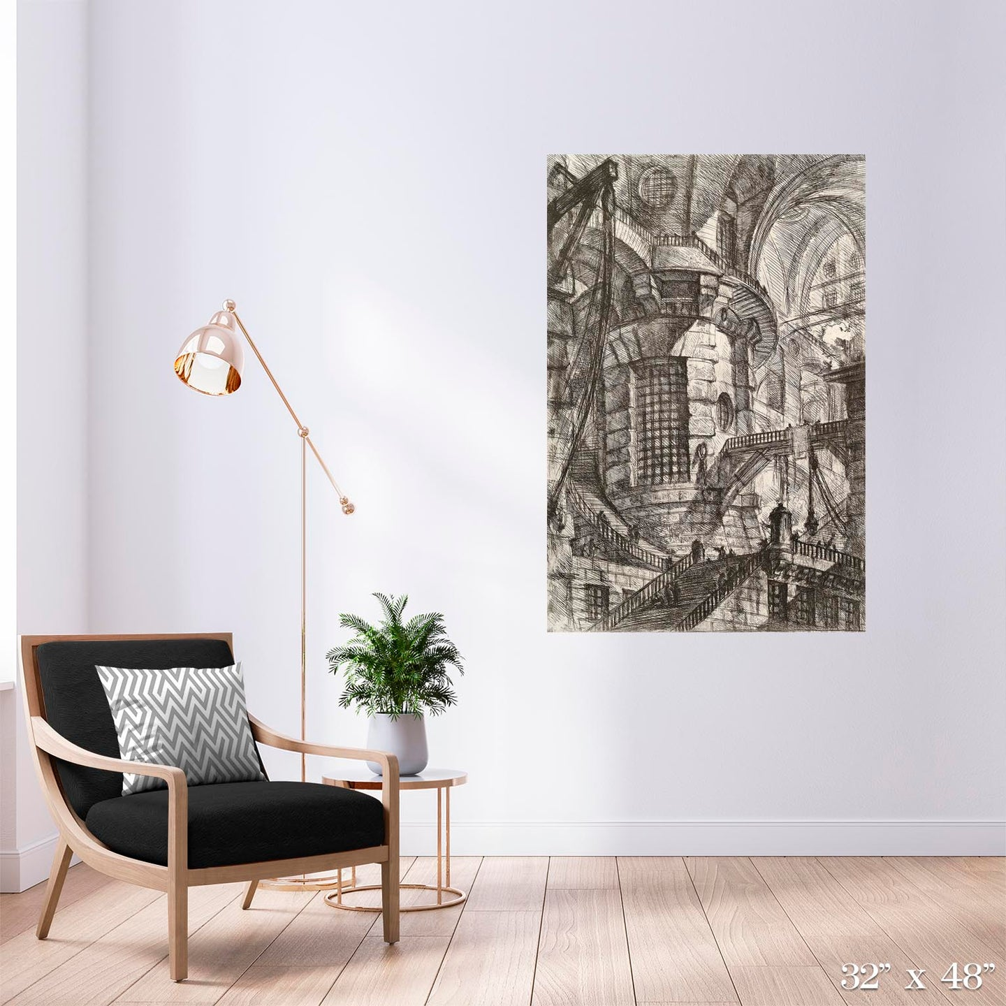 The Round Tower Colossal Art Print