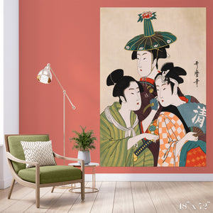 Trio Colossal Art Print