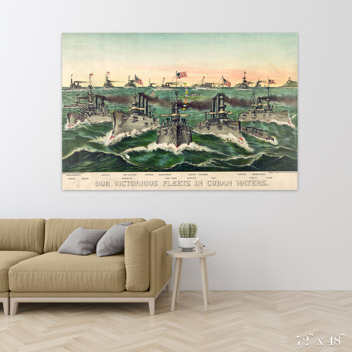 Victorious Fleet Colossal Art Print
