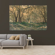 Load image into Gallery viewer, Young Girl Under Olive Trees Colossal Art Print